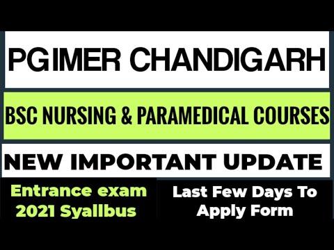 PGIMER CHANDIGARH BSC