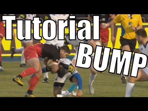 Rugby: How to BUMP OFF a Defender/Tackler