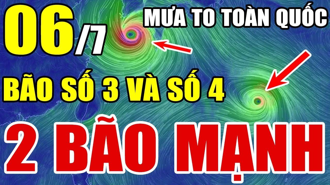 Dự báo thời tiết hôm nay ngày 6/7/2021   Dự báo thời tiết 3 ngày tới   Thông tin thời tiết hôm nay và ngày mai