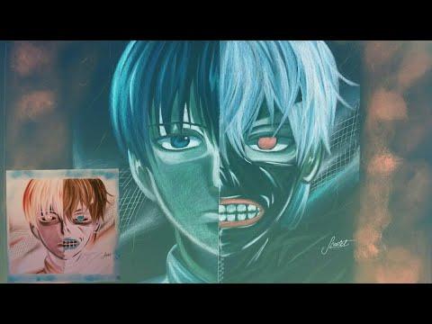 Drawing Kaneki Ken - TOKYO GHOUL negative effect
