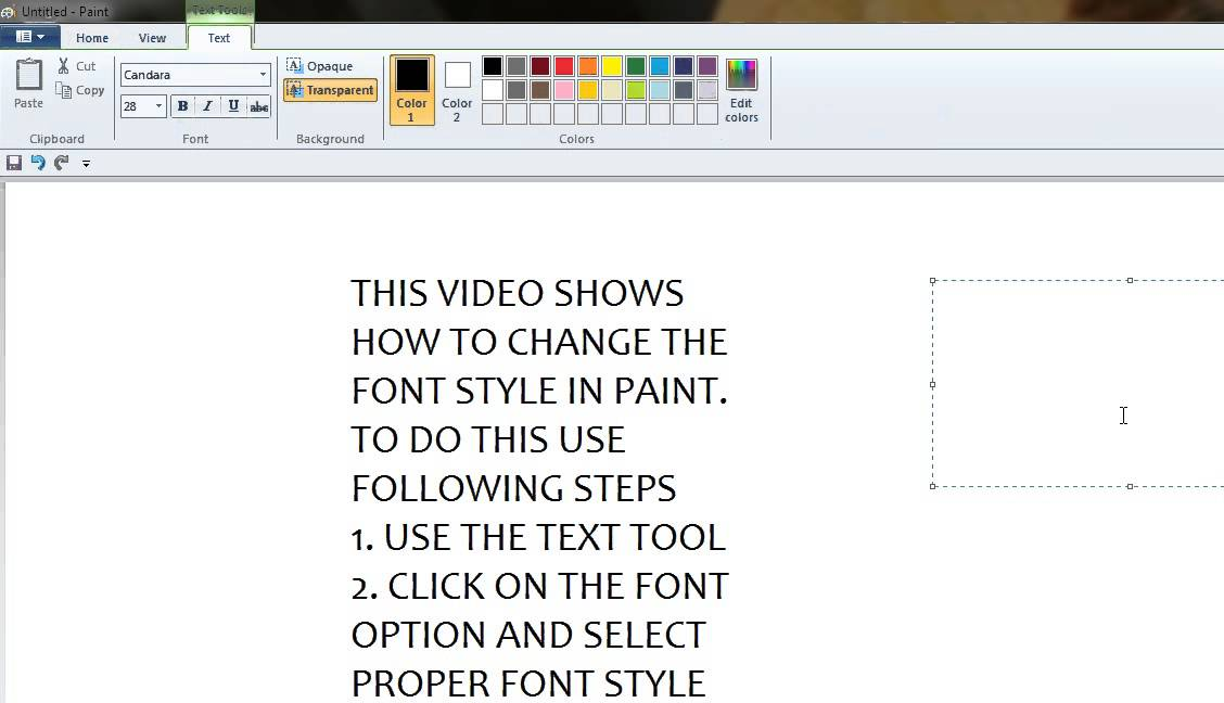 how to change my font