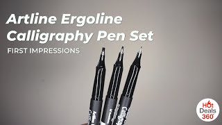 Artline Calligraphy Pens | First Impressions