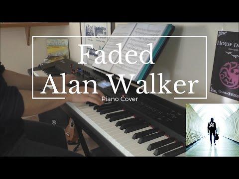 Faded - Alan Walker (Piano Cover & Sheet)