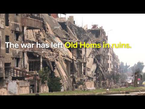 Syria: UN High Commissioner for Refugees visits destroyed Homs  (TRAILER)