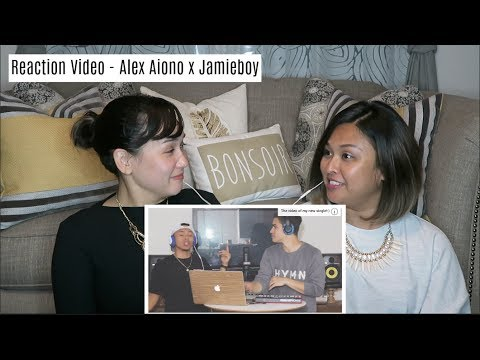 Reaction Video - Alex Aiono And Jamieboy -Young Dumb & Broke, Bank Account, & Bodak Yellow Mashup