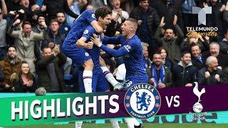 Gambar cover Chelsea vs. Tottenham: 2-1 Goals & Highlights | Premier League | Telemundo Deportes