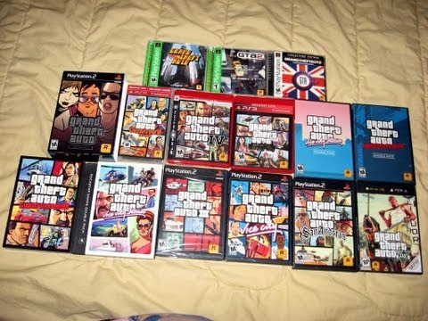 Grand Theft Auto Series (OLD)
