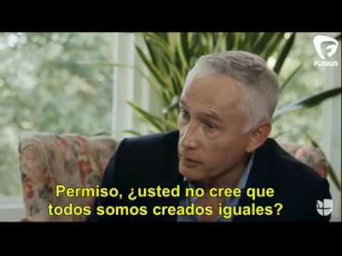 Entrevista Jorge Ramos a Jared Taylor