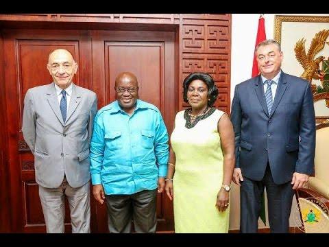 Air France delegation calls on President Akufo-Addo
