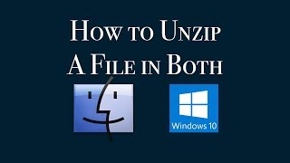 How to Unzip a File in Windows & Mac