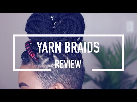 Yarn Braids (with shaved sides): complete style UNDER $20