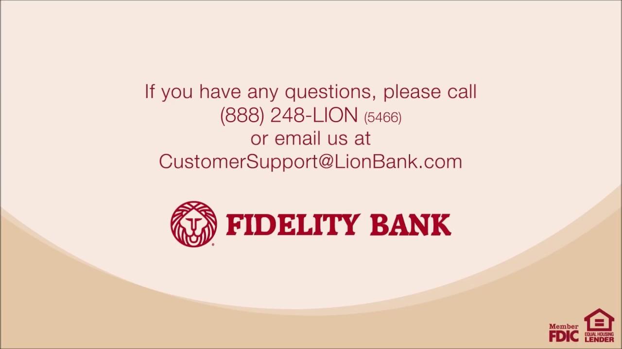 Fidelity Bank Auto Loan >> Fidelity Bank Fidelity Bank Estatements