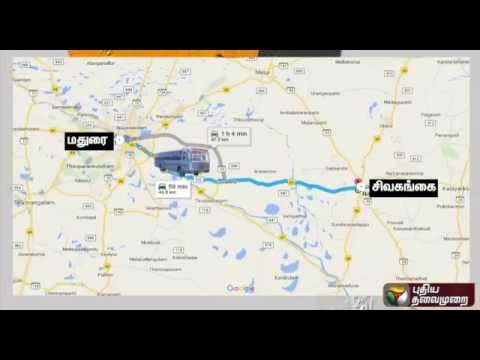 Unidentified miscreant drives away  government bus from Madurai