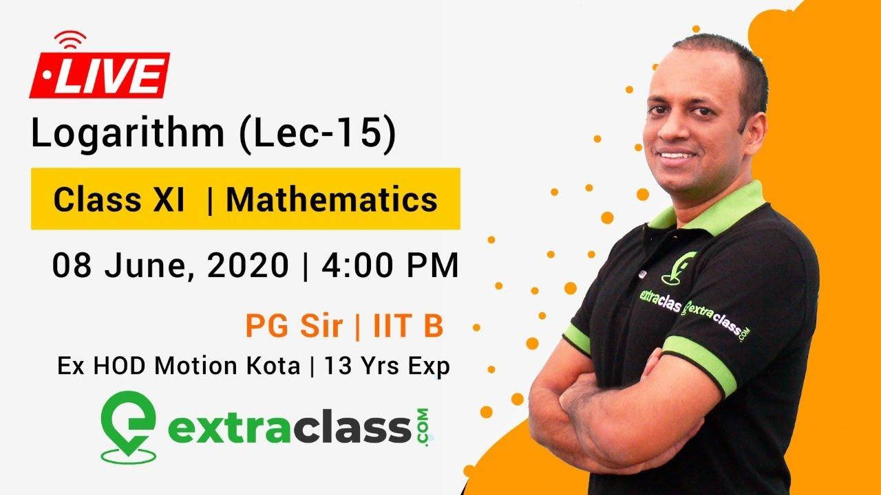 Logarithm (Lec-15)