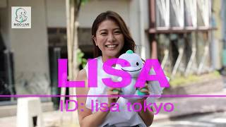 【BIGO LIVE JAPAN】#4  笑顔がキュートなLISAさん(ID:lisa tokyo) インタヒ?ュー
