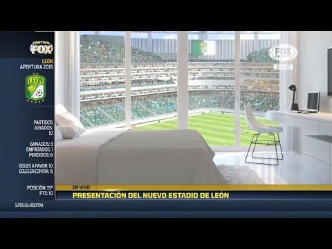 ¡Todo esto tendrá el nuevo estadio de León!