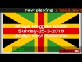Andys Reggae Radio - Sunday -25/3/2018- Andys Vinyl Selections