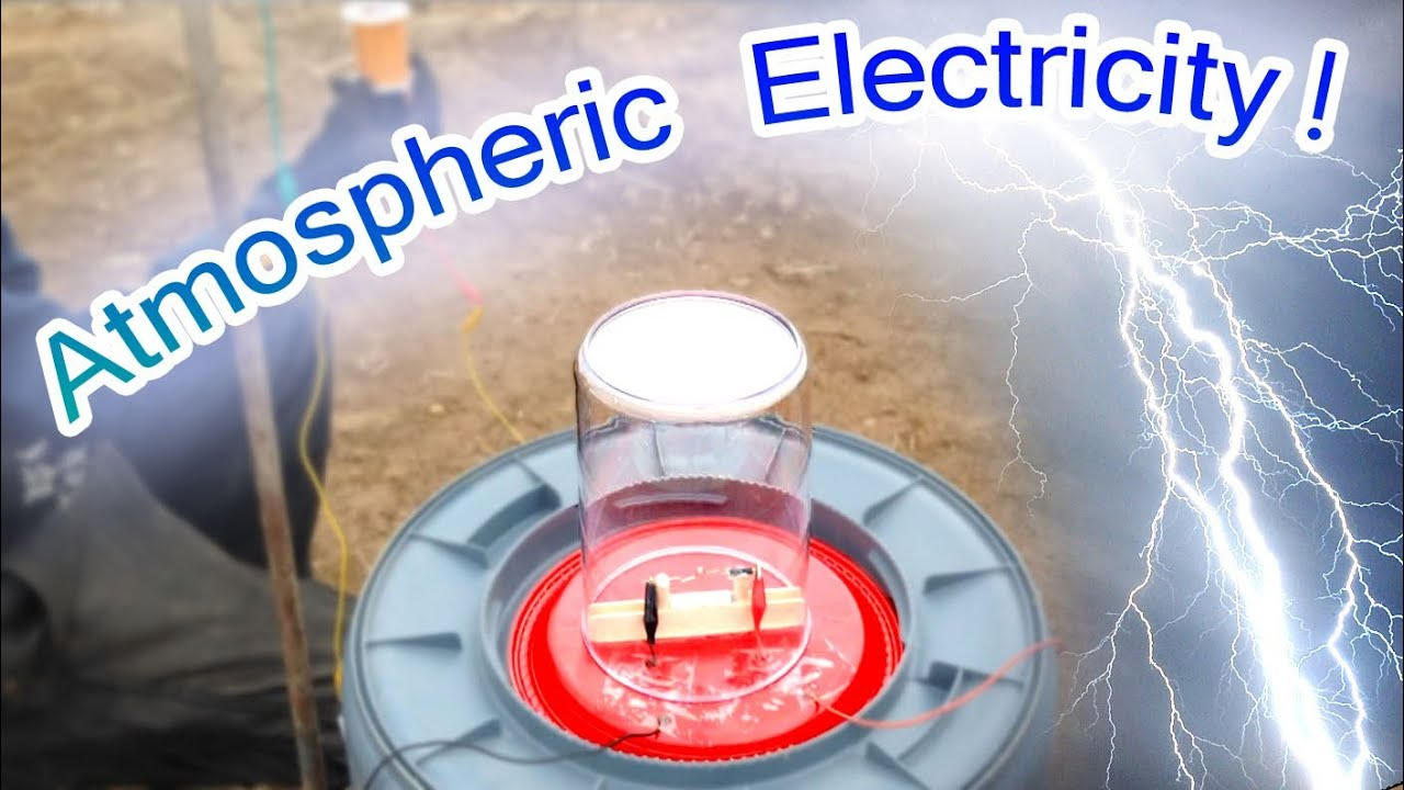 Free Atmospheric Electricity Powers Small Motor Tesla