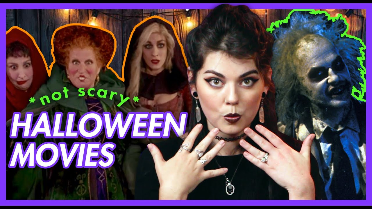 20 *not scary* Halloween Movies!