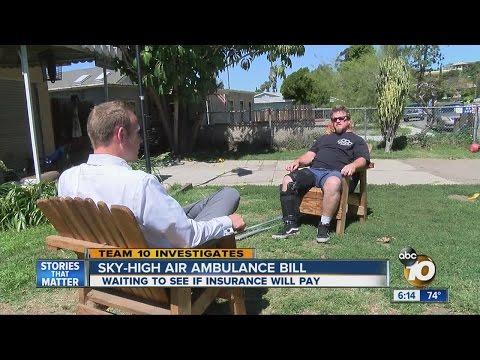 Sky-high air ambulance bill