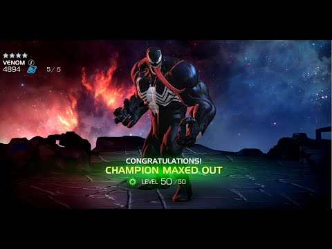 4 Star Venom To Rank 5