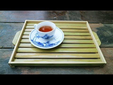 Diy tea tray from bamboo - Bamboo Furniture