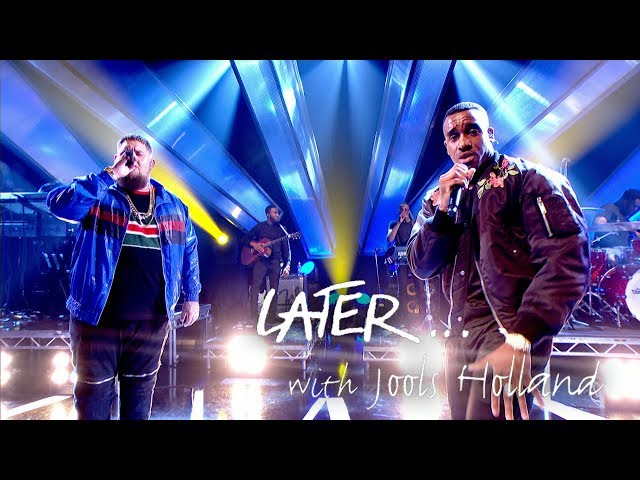 Bugzy Malone and Rag'n'Bone Man perform Run on Later... with Jools Holland