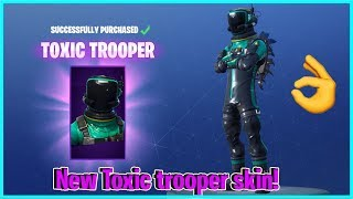 Fortnite new toxic trooper skin! Duos w/Higherpower57