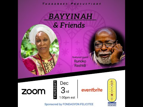 Bayyinah & Friends feat. Dr. Runoko Rashidi   3 Dec 2020