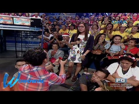 Wowowin: Unexpected marriage proposal, nangyari sa Willie of Fortune!