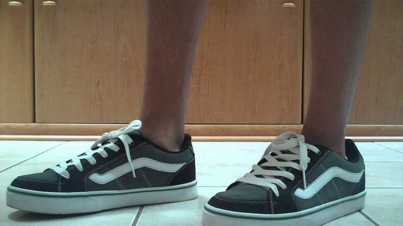 2303a52f28 Vans Transistor Skate Shoes - Showing - YouTube