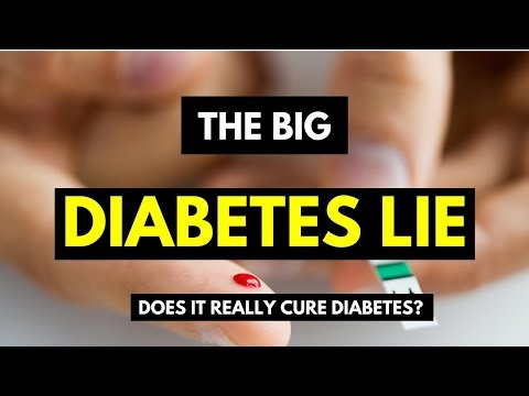 The Big Diabetes Lie - Does It Really Cure Diabetes?