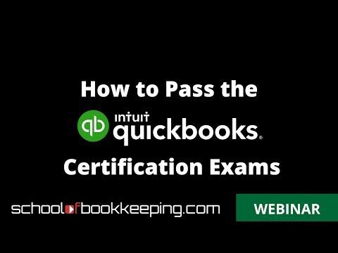 How To Pass The QuickBooks Online ProAdvisor Certification Exam