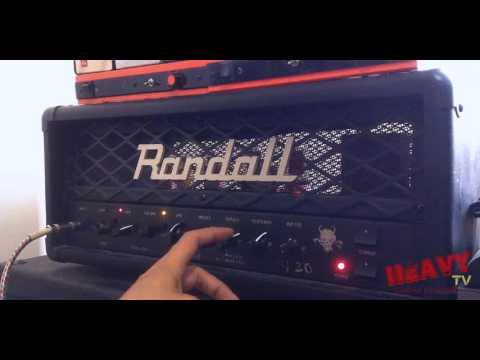 Randall Diavlo RD20 Metal Demo