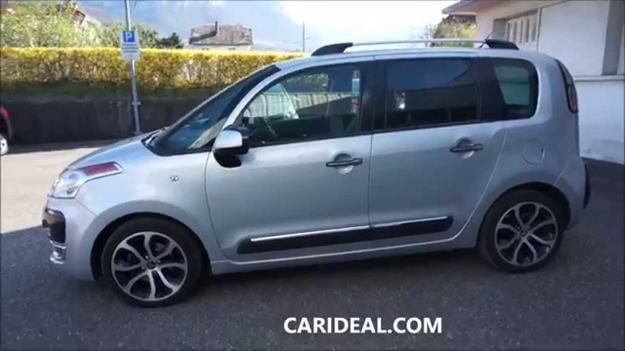 citroen c3 picasso hdi 110 exclusive occasion carideal mandataire auto chambery youtube. Black Bedroom Furniture Sets. Home Design Ideas
