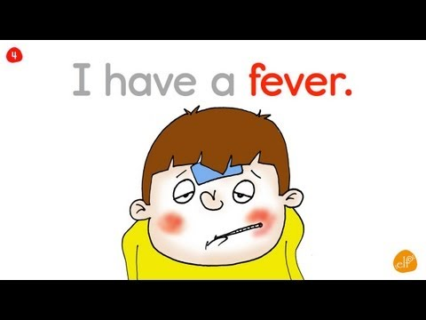 Learn Health Vocabulary (Phrases 1) - Health Song - Elf Learning