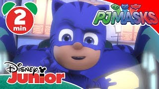 PJ Masks | Cat-Car Chaos 💥 | Disney Junior UK