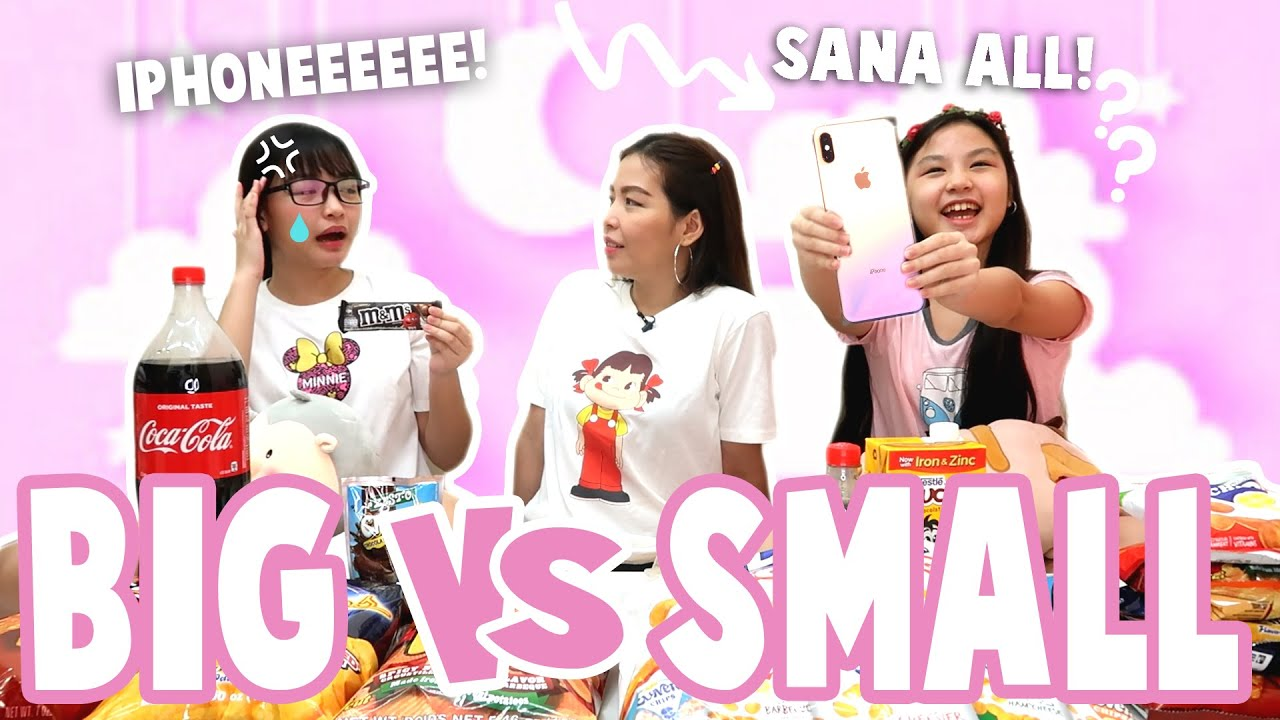 BIG VS SMALL CLASS CARD CHALLENGE | IPHONE NA BA ANG BIG SPECIAL PRIZE SA WINNER?! | Aurea & Alexa