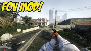Field Of View Mod for Grand Theft Auto 5 on PC. ( MOD REVIEW ) My P...