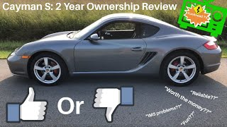 Porsche 987 Cayman S: 2 Year Review, 3 Likes and 3 Dislikes