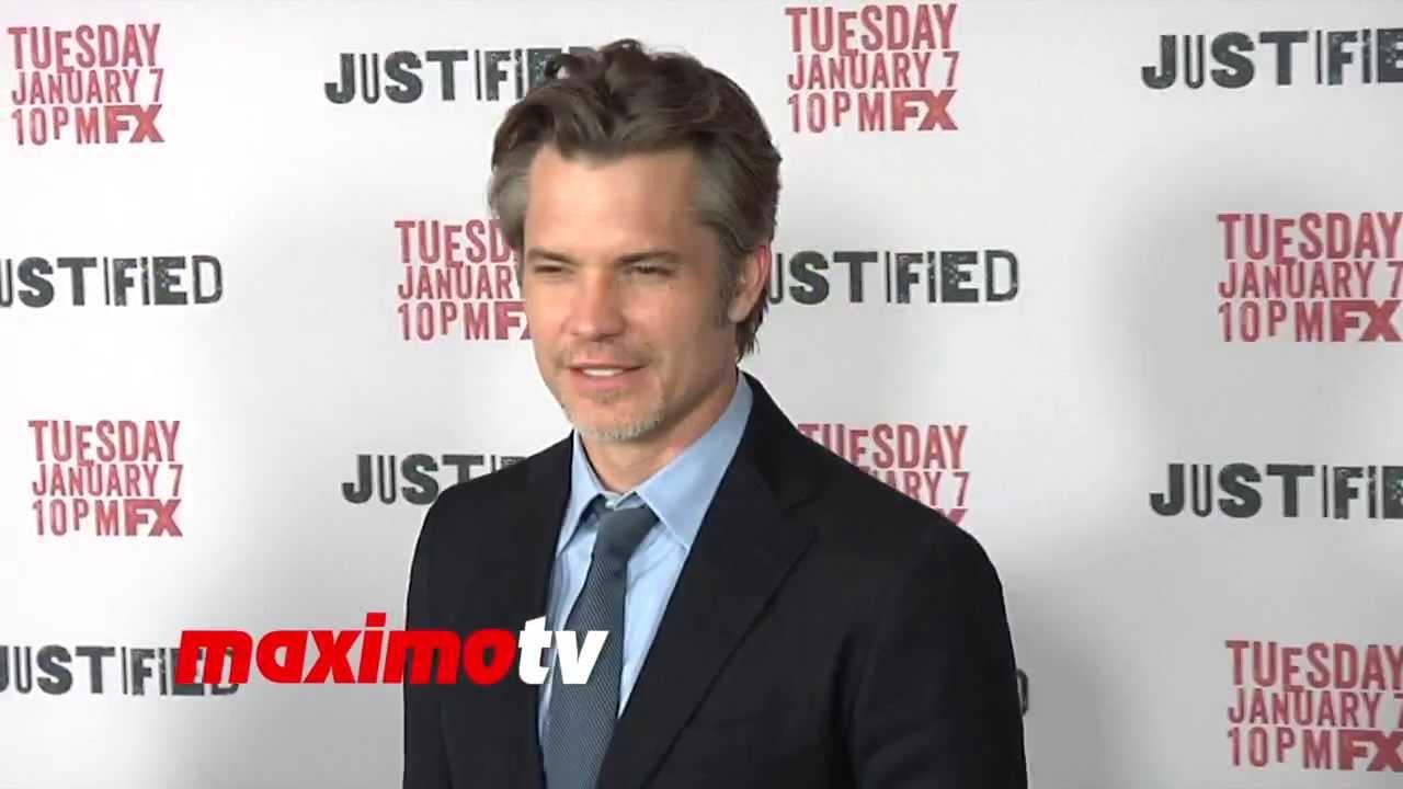 b22ccf1c16e73 Timothy Olyphant FX s JUSTIFIED Season 5 Premiere Screening - Deputy U.S. Marshal  Raylan Givens
