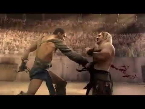 Spartacus Vs Theokolesi Öldürme Sahnesi