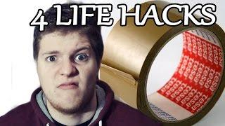 DIE 4 BESTEN KLEBEBAND LIFE HACKS im TEST #02