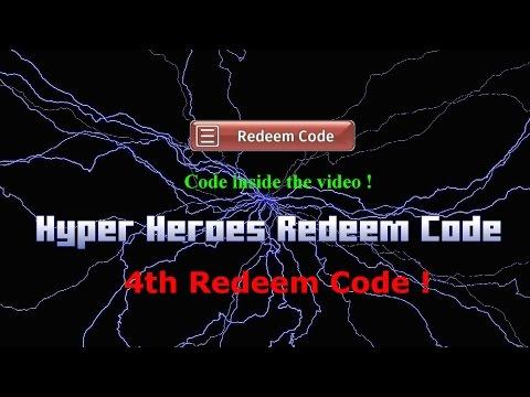 Hyper Heroes 4th Free Redeem Code