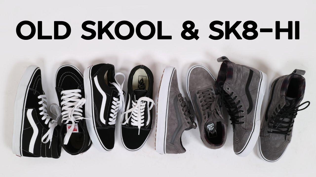 Обзор Vans Old Skool и Sk8-Hi. Классика и MTE версия - YouTube 8e840307449