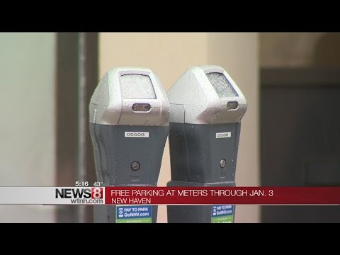 Parking meter enforcement suspended in New Haven for the holidays