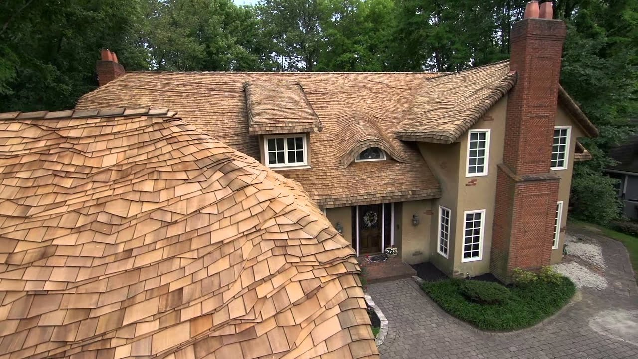 Steam Bent Cedar Roof By The Shakeguys Youtube
