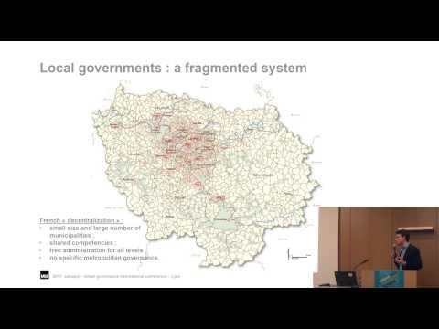 Leo FAUCONNET: Metropolitan governance in Paris lle-de-France: a model at the crossroads