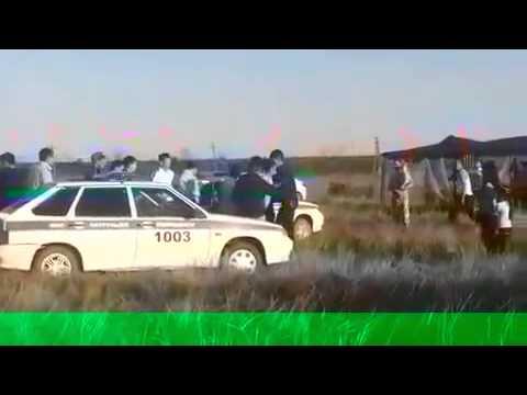 В ЗКО в городе Аксай произошла массовая драка