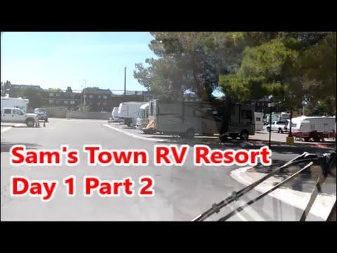 Sam S Town Rv Resort Day 1 Part 2 Youtube